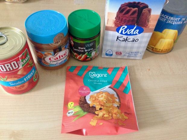 Pindakaas, Cacao poeder, vanillas