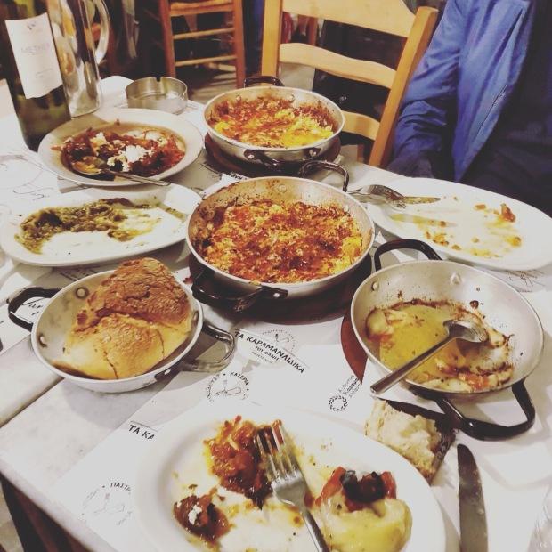 Vega eten Athene Karamanlidika