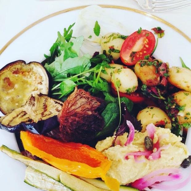 Vegan lunch in Athene